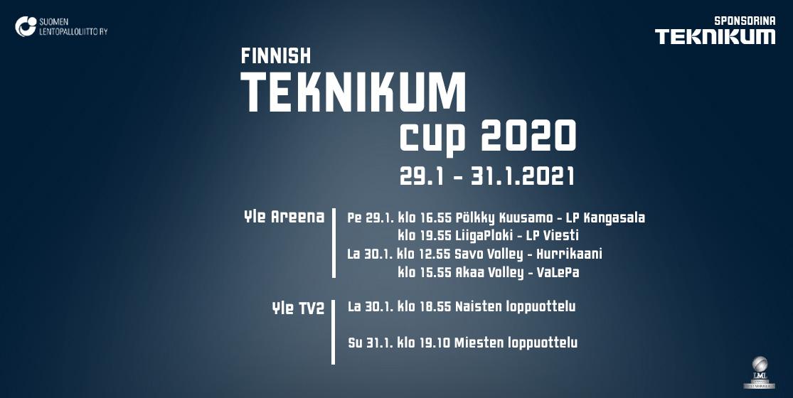 Päävalmentajat odottavat Finnish Teknikum Cupia innolla