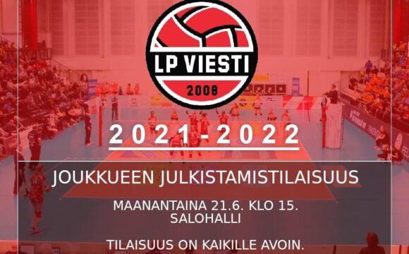 Maanantai on suuri päivä – kausi 2021-2022 avataan oikein räjäyttämällä Salohallissa!