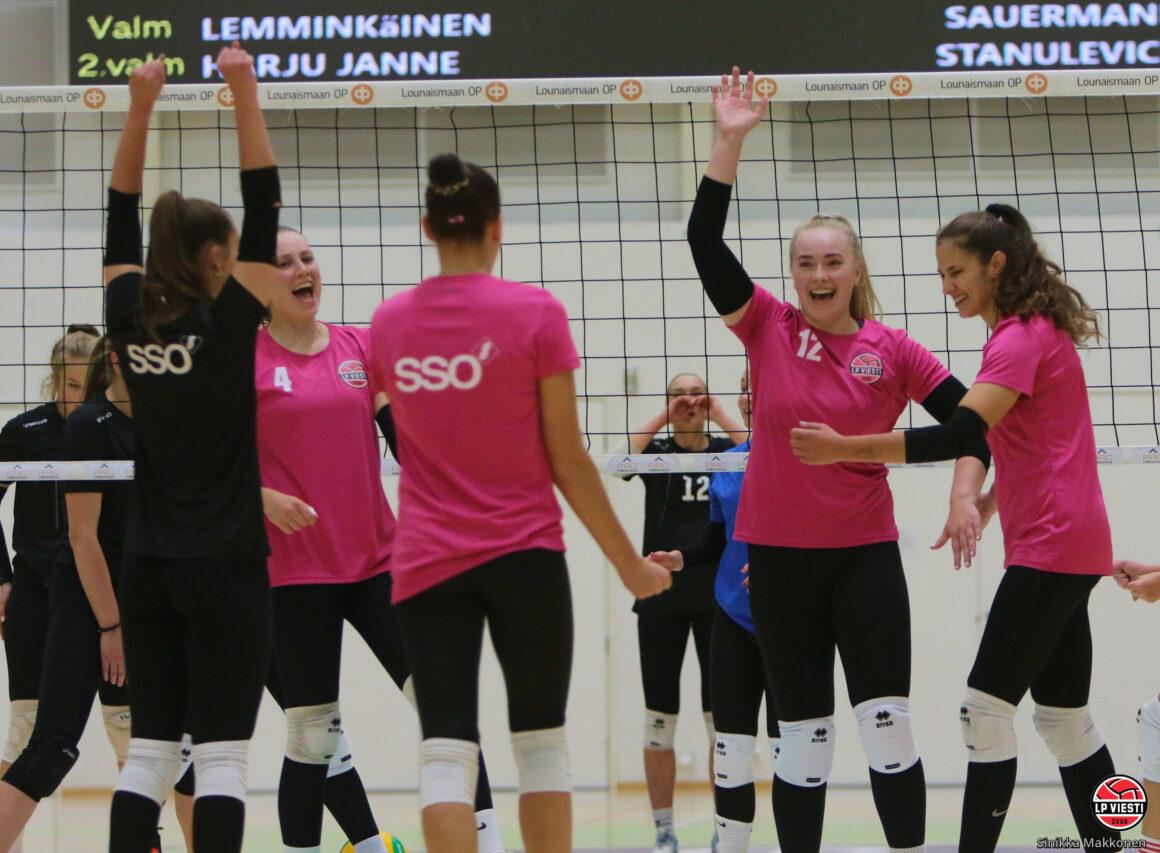 Harjoitusottelusta voitto LP Viestille 4-0, OP Lounaismaa -turnaus lauantaina