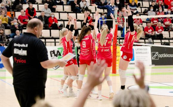 Otteluraportti: LP Viesti – Hel Volley
